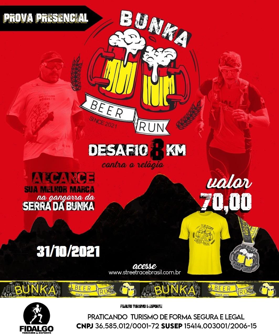 DESAFIO BUNKA BEER RUN 8K- BATERIA 5