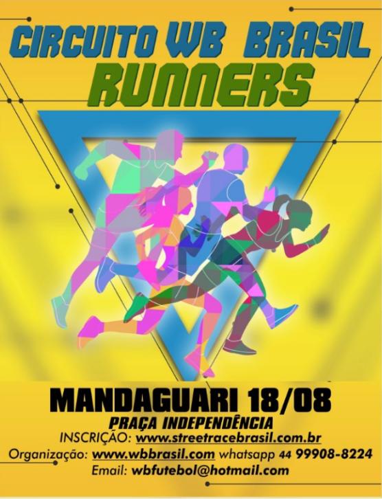 CIRCUITO DE CORRIDAS RÚSTICAS WB BRASIL RUNNERS/2019 (MANDAGUARI)