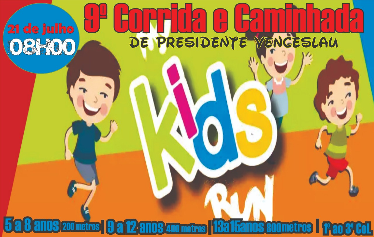 CORRIDA KIDS DE PRESIDENTE VENCESLAU