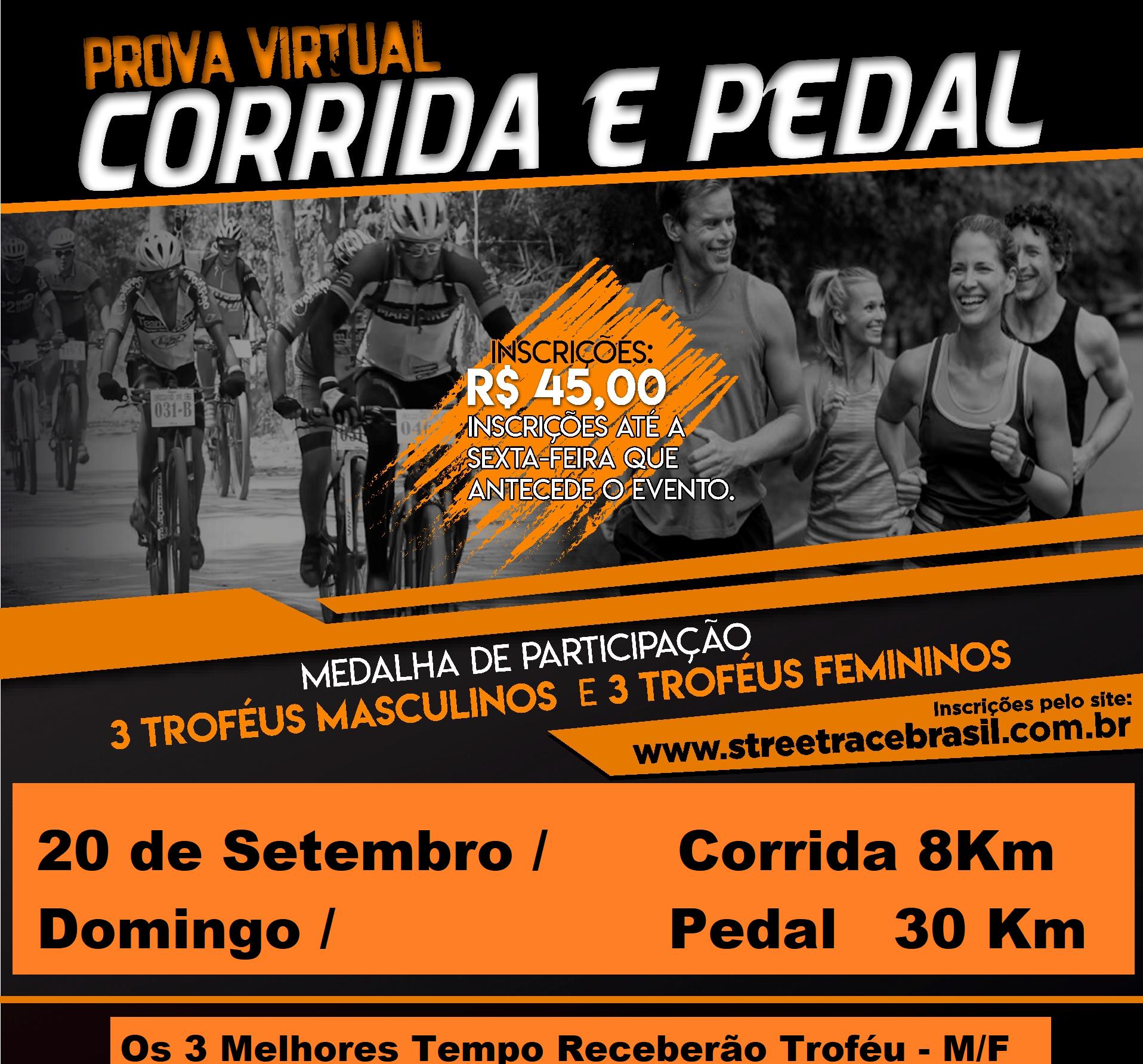 CORRIDA & PEDAL VIRTUAL SUPERAÇÃO (SETEMBRO)