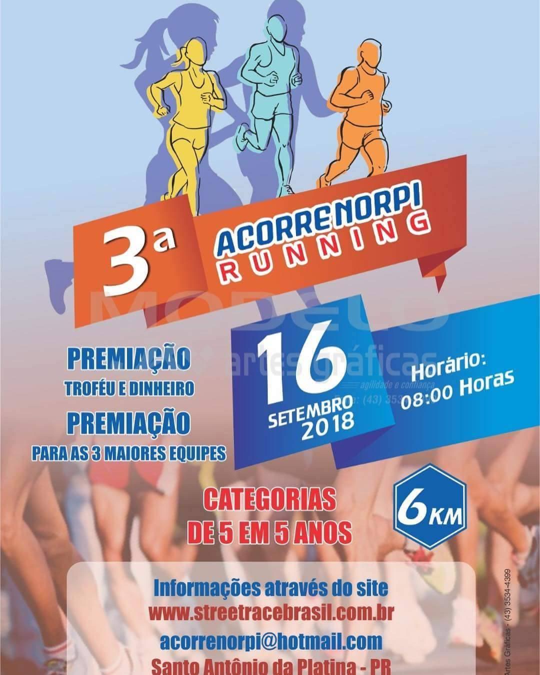 3ª CORRIDA CIRCUIITO ACORRENORPI