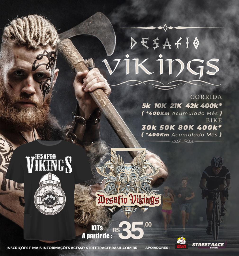 DESAFIO VIKINGS -PEDAL