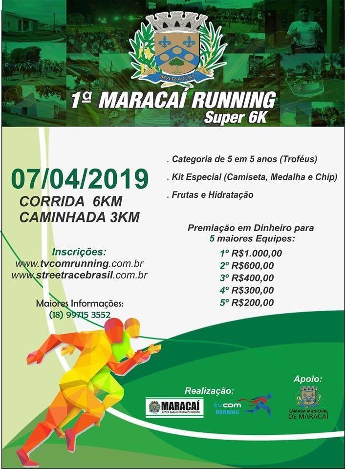 1º MARACAI RUNNING