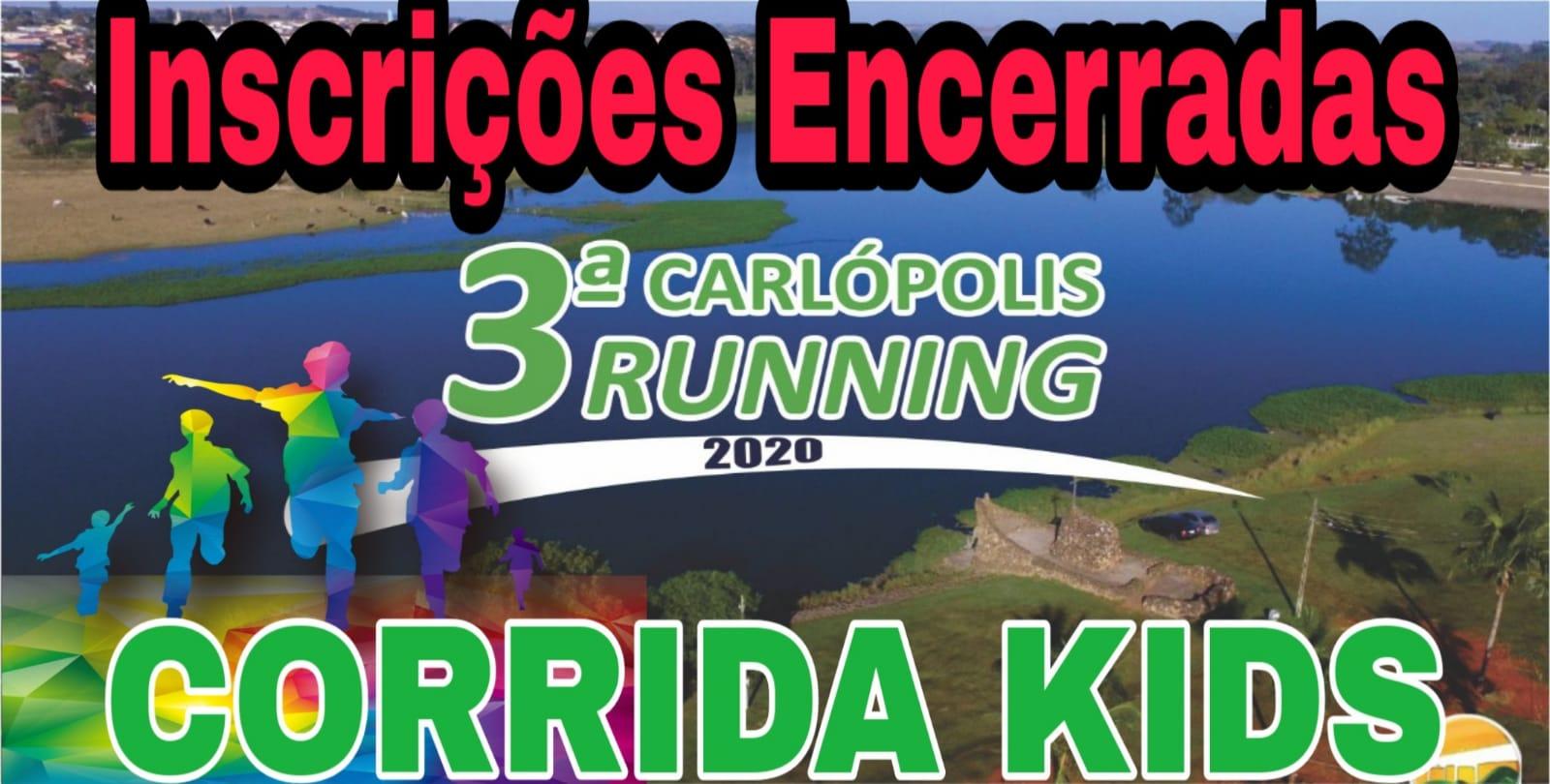 3ª CARLÓPOLIS RUNNING KIDS 2020