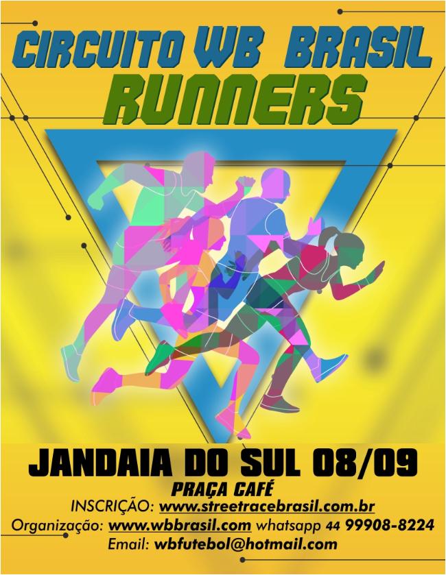 CIRCUITO DE CORRIDAS RÚSTICAS WB BRASIL RUNNERS/2019 (JANDAIA DO SUL)
