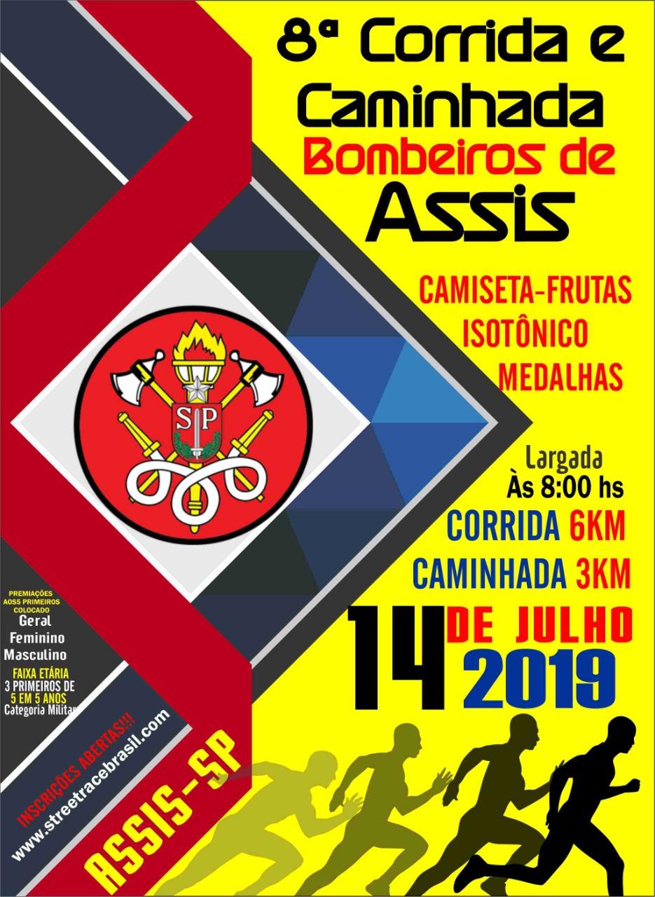 8ª CORRIDA E CAMINHADA BOMBEIROS DE ASSIS