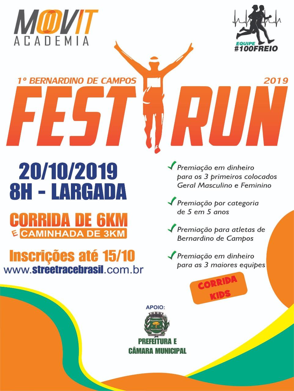 1º BERNARDINO DE CAMPOS FEST RUN