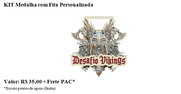 DESAFIO VIKINGS -RUN