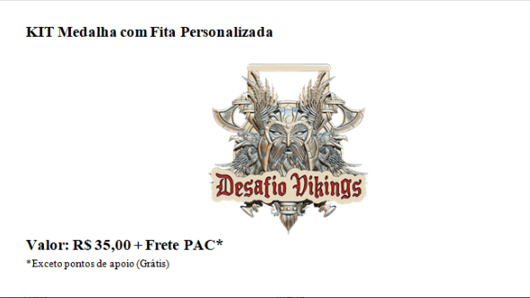 DESAFIO VIKINGS -PEDAL 2